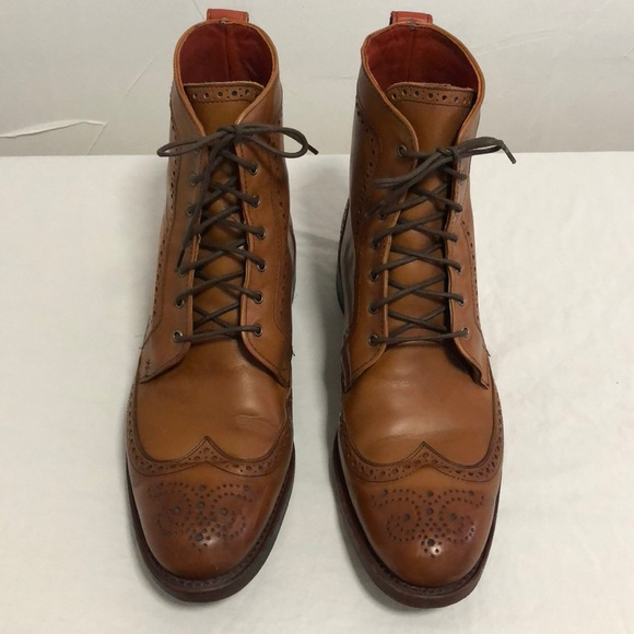 bc840369a7ce Allen Edmonds Other - ALLEN EDMONDS DALTON WINGTIP MENS DRESS BOOTS 10D